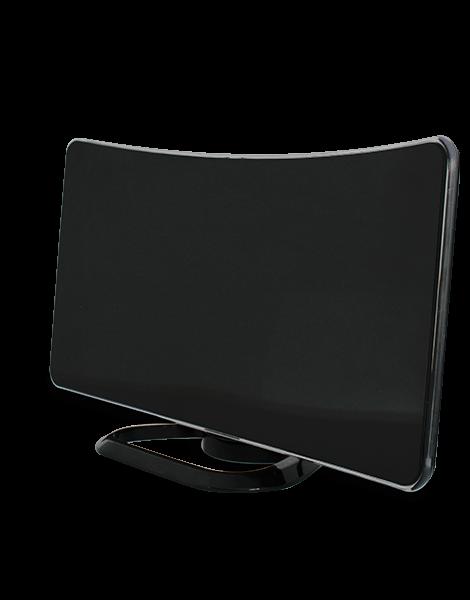 antenne intrieure curve noire