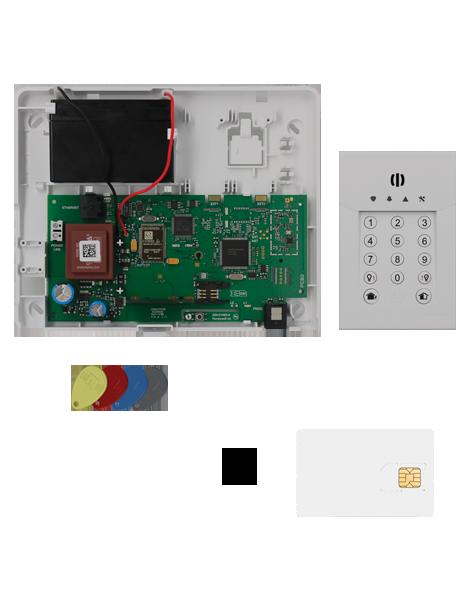 kit alarme radio total connect box avec carte sim sedea. Black Bedroom Furniture Sets. Home Design Ideas